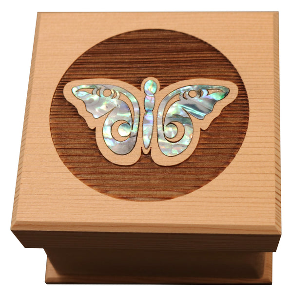 Butterfly Bentwood Box - Large