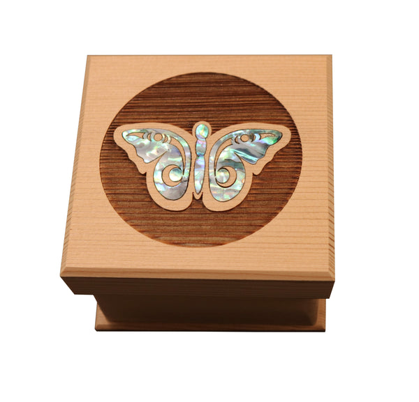 Butterfly Bentwood Box - Small
