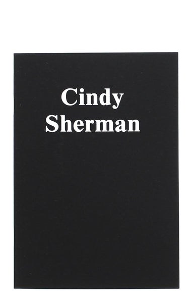 Cindy Sherman Logo Notebook