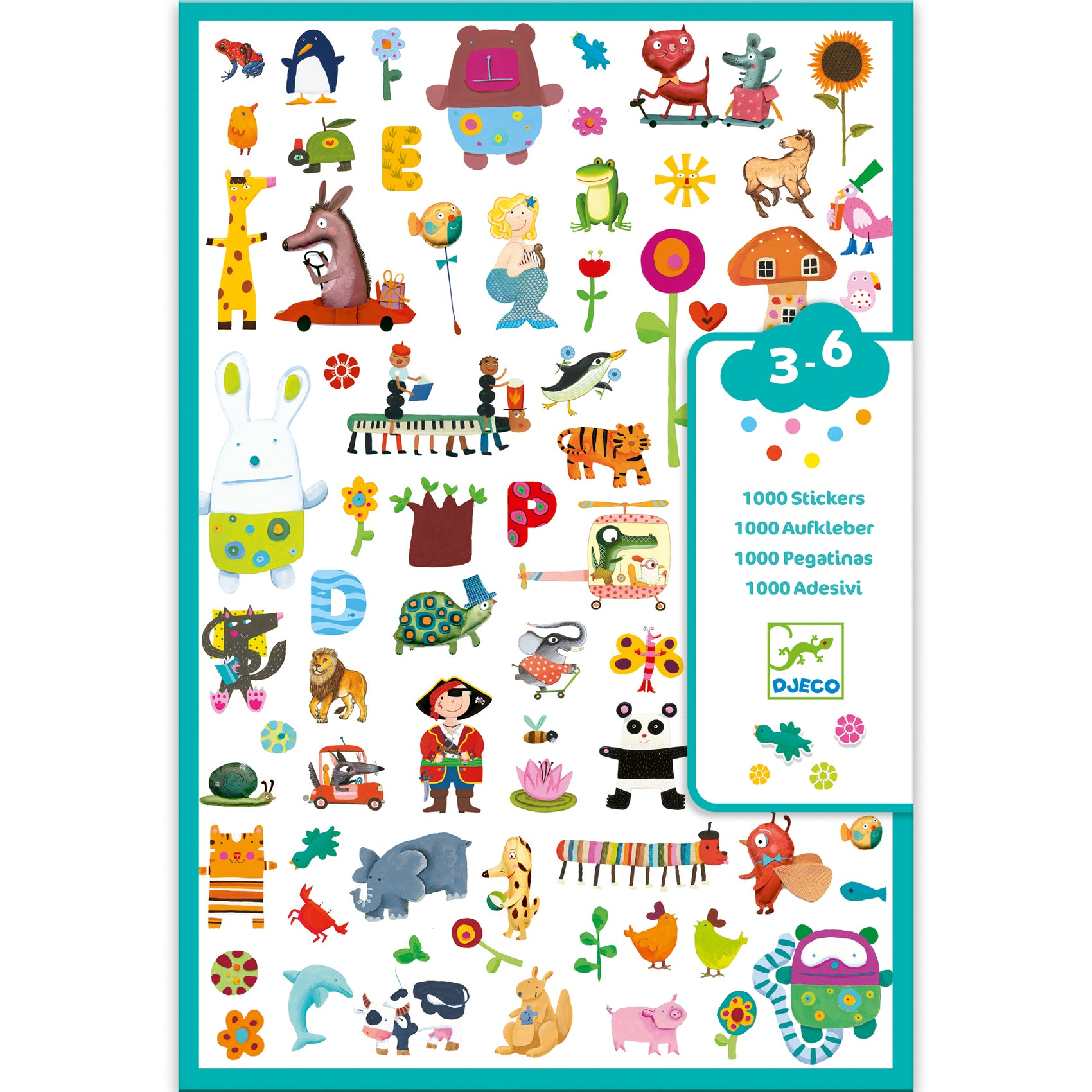 1000 Stickers for Little Ones