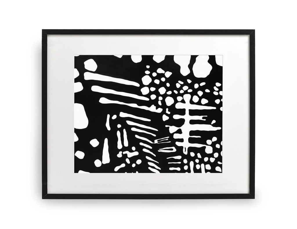 """""""Patois"""" Framed Special Edition Print by Tafui"""