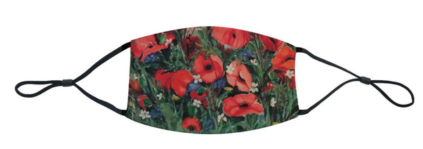 A Sea of Poppies Mask