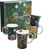 Gustav Klimt: Set of 4 Mugs