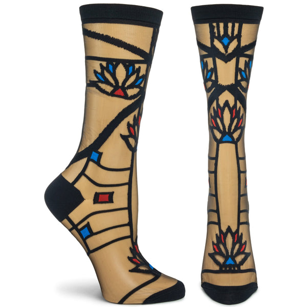 Frank Lloyd Wright Waterlilies Socks