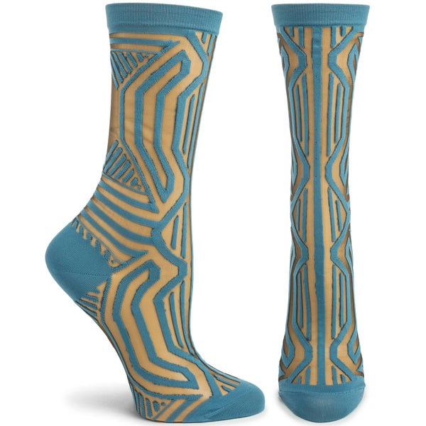 Frank Lloyd Wright Sheer Kaufmann Socks