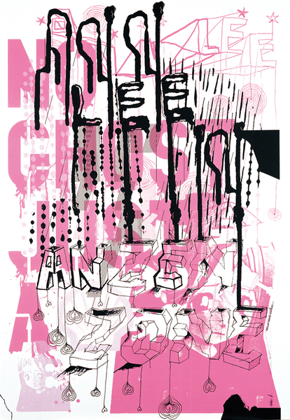 "M/M (Paris, France) Print ""Ann Lee in Anzen Zone"""