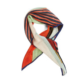 Printed Oblique Silk Scarf