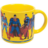 Superman Through the Years Mug