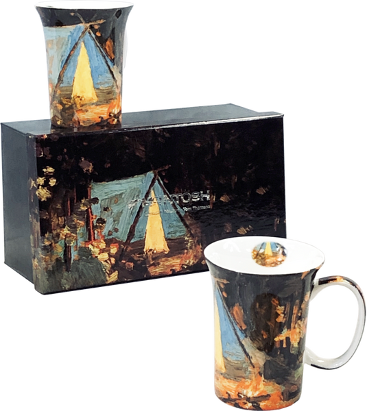 Tom Thomson: Campfire Set of 2 Mugs