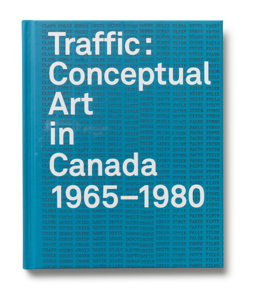 SALE! Traffic: Conceptual Art in Canada from 1965–1980