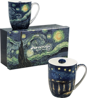 Vincent van Gogh: Starry Night Set of 2 Mugs