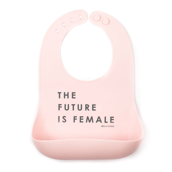 The Future is Female Bib