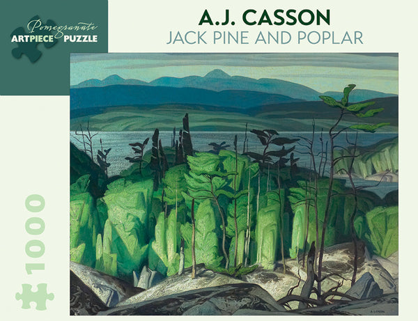 A.J. Casson: Jack Pine and Poplar Puzzle