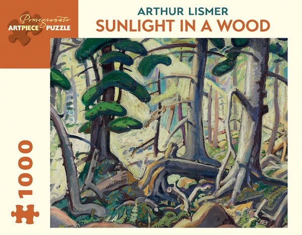 Arthur Lismer: Sunlight in a Wood Puzzle