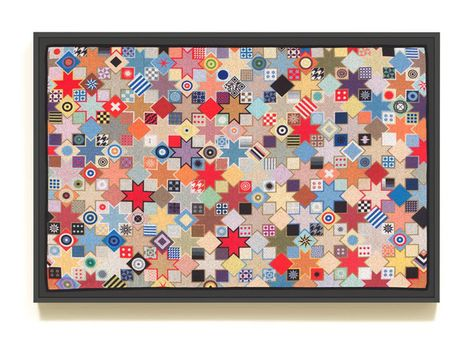 "Douglas Coupland Print on Poly-cotton ""Aubusson"""
