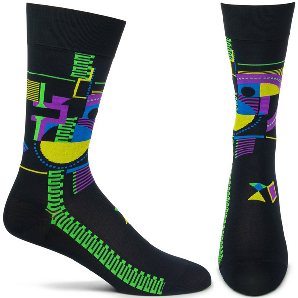 Frank Lloyd Wright Hollyhock Socks