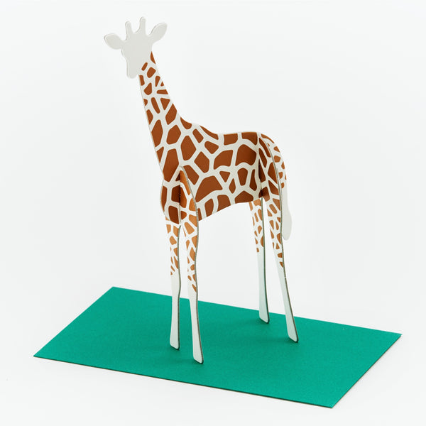 Post Animal Standing Message Cards