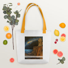 Load image into Gallery viewer, The Milky Way Over El Viejo San Juan Tote bag