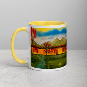 Autumn By The Lake Mug