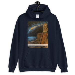 The Milky Way Over El Viejo San Juan Hoodie