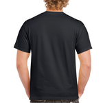 Load image into Gallery viewer, Camp Zilla  // Black Ultra Cotton Tee