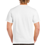 Load image into Gallery viewer, Over The Moon // White Ultra Cotton Tee