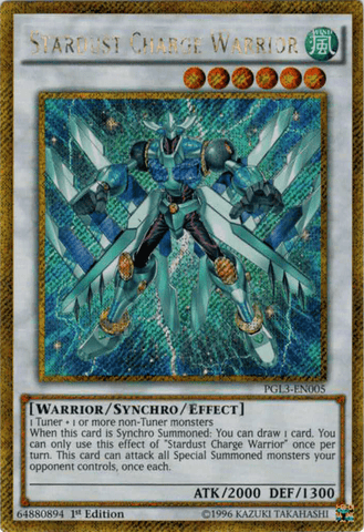 Stardust Charge Warrior - PGL3 (GSCR)