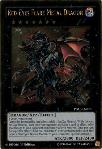 Red-Eyes Flare Metal Dragon - PGL3 (GR)