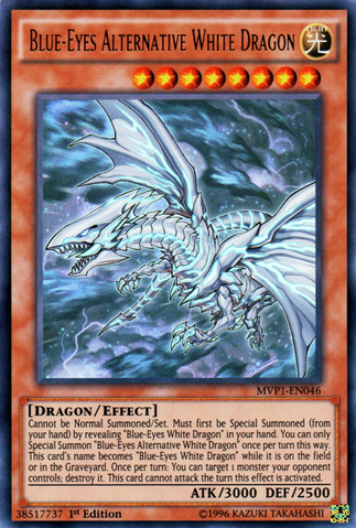Blue-Eyes Alternative White Dragon - MVP1 (UR)