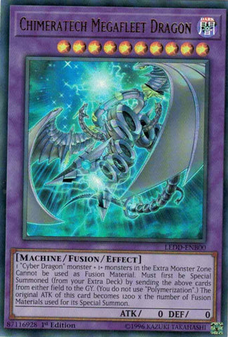 Chimeratech Megafleet Dragon - LEDD (UR)