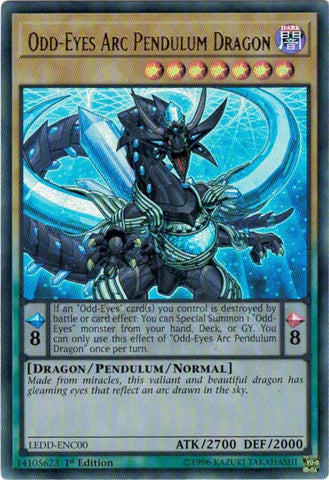 Odd-Eyes Arc Pendulum Dragon - LEDD (UR)