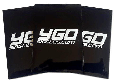YGO singles.com sleeves - BLACK 60ct.