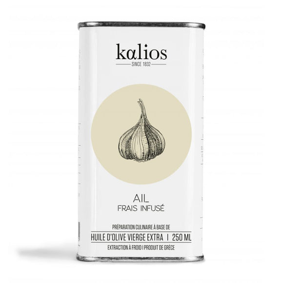 Garlic Infused Oil (from Extra Virgin Olive Oil) / 250ml. / Kalios