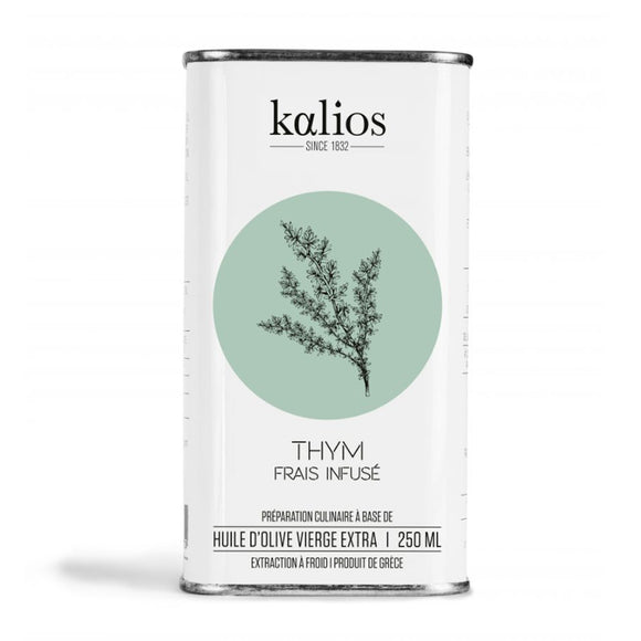 Thyme Infused Oil (from Extra Virgin Olive Oil) / 250ml. / Kalios