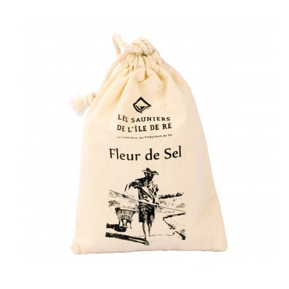 Fleur de Sel / Sea Salt / 125g. / Island of Ré, France