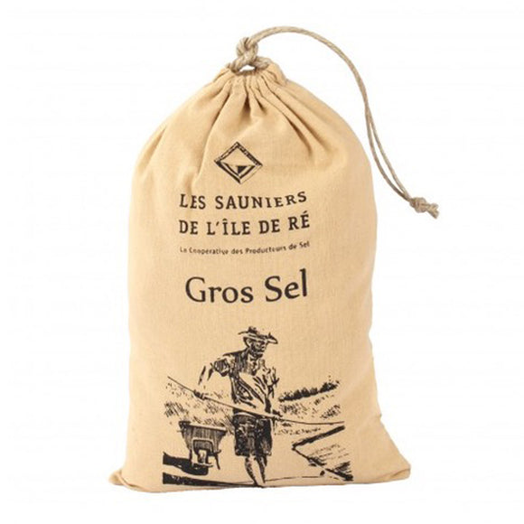 Gros Sel / Natural Corse Sea Salt / 750g. / Island of Ré, France