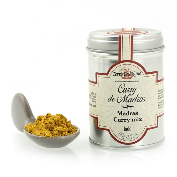 Madras Curry Mix / India / 60g. / Terre Exotique