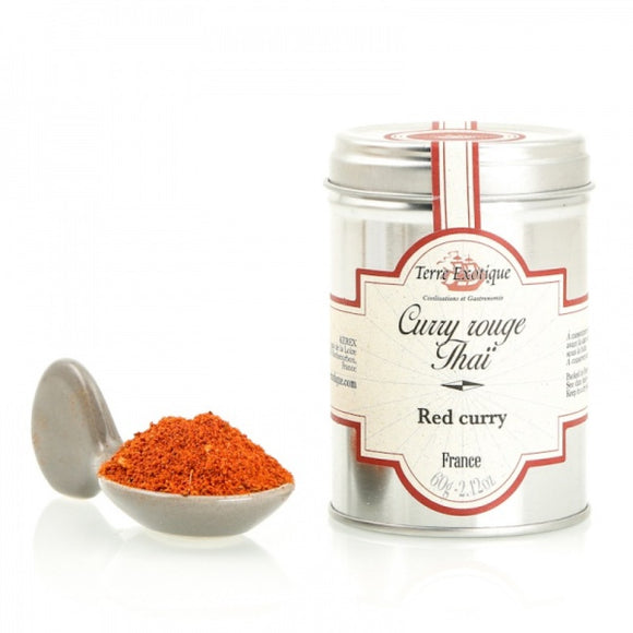 Red Thaï Curry / France / 60g. / Terre Exotique