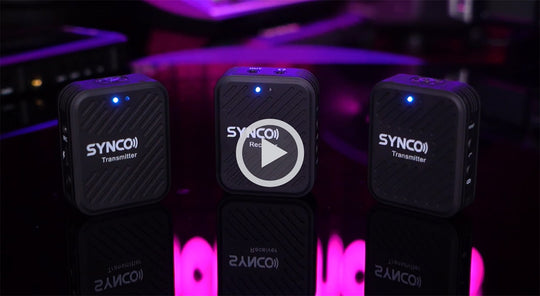 Meet SYNCO G1, new 2.4 GHz wireless mic system to challenge market