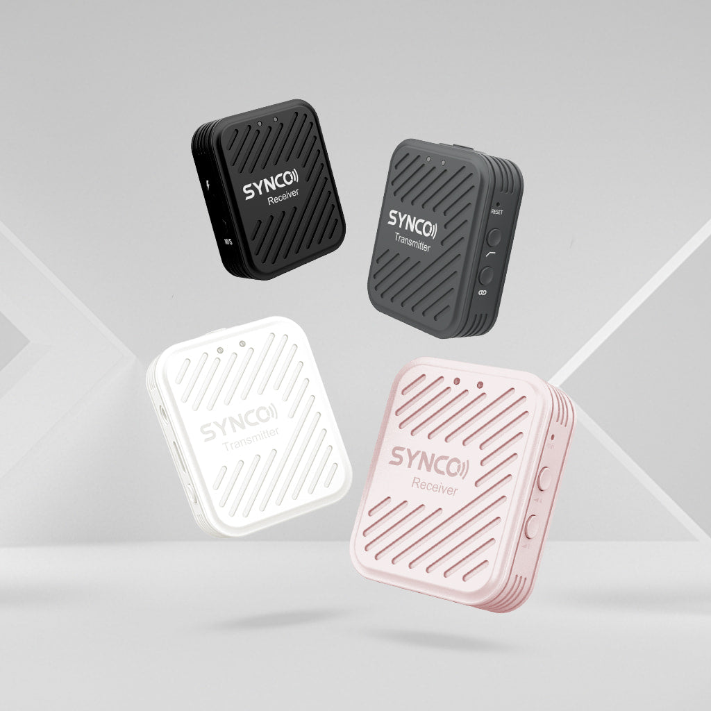 SYNCO G1 Series in Four Colors