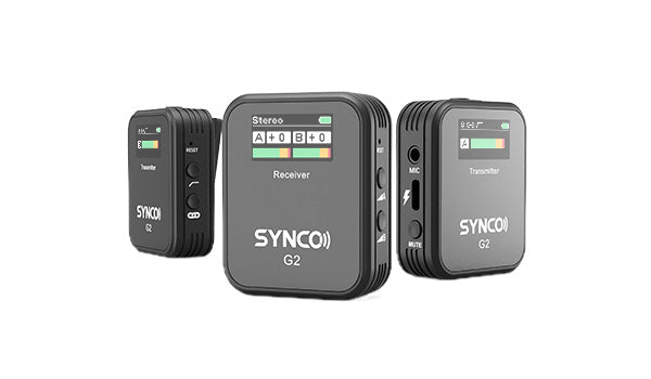 2.4G wireless lavalier microphone SYNCO G2