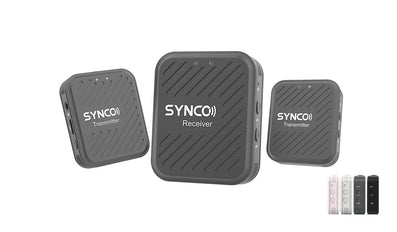 Wireless Lavaliere Microphone System SYNCO G1(A2)