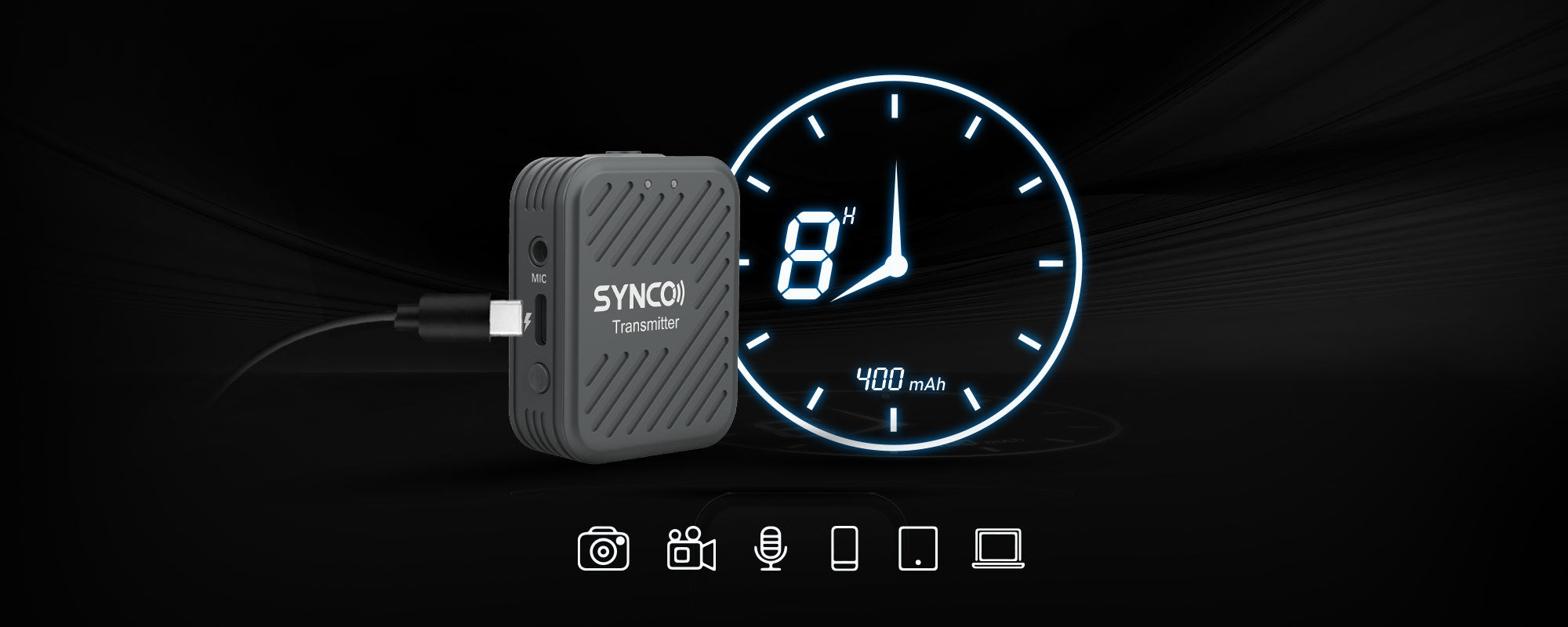 SYNCO G1(A2) Big Uses in Tiny Construction