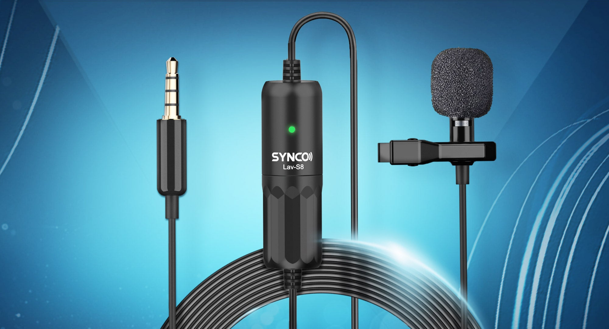 SYNCO Lav-S8 Extra-long Audio Cable