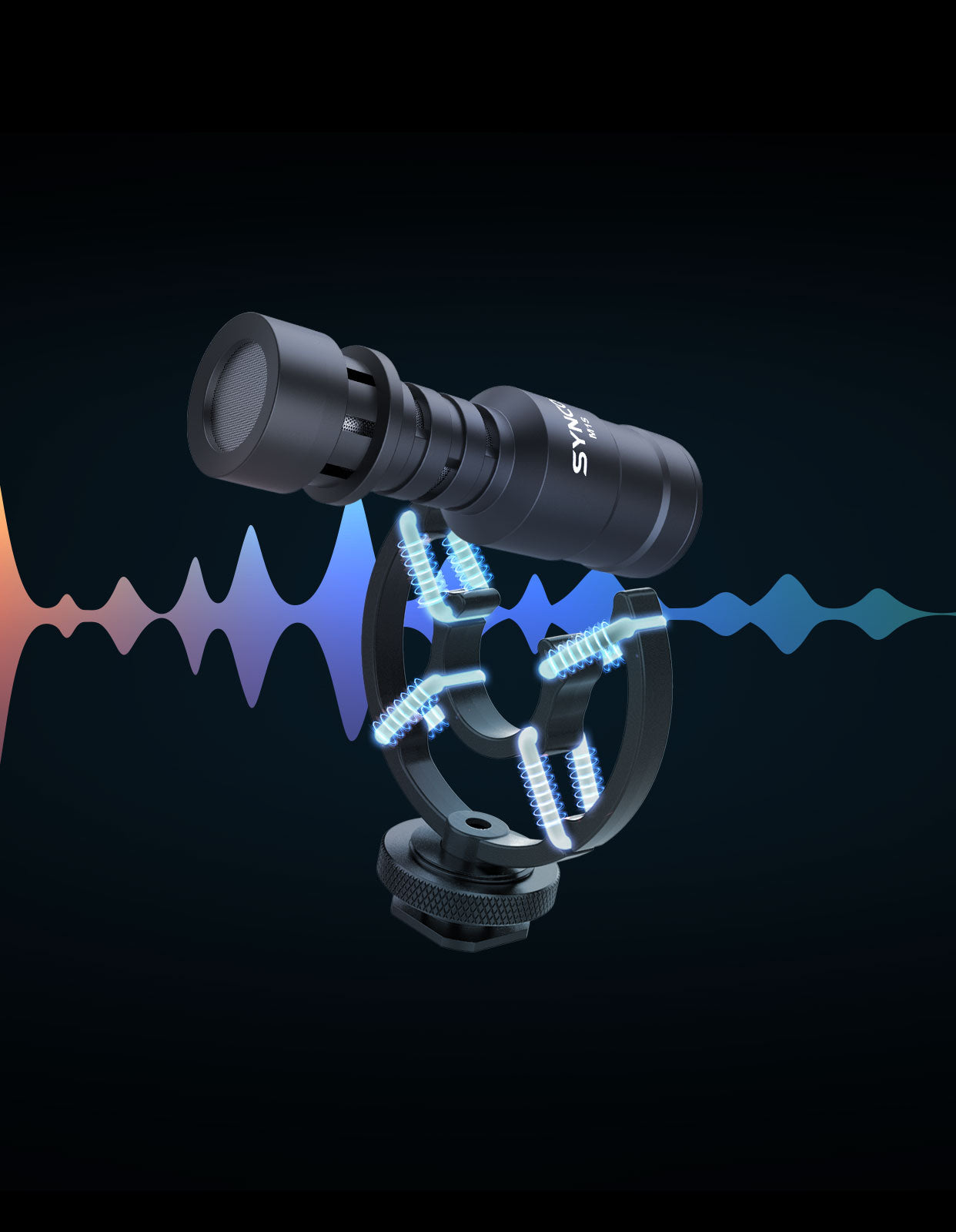 SYNCO Mic-M1S Free Action, Smooth Recording