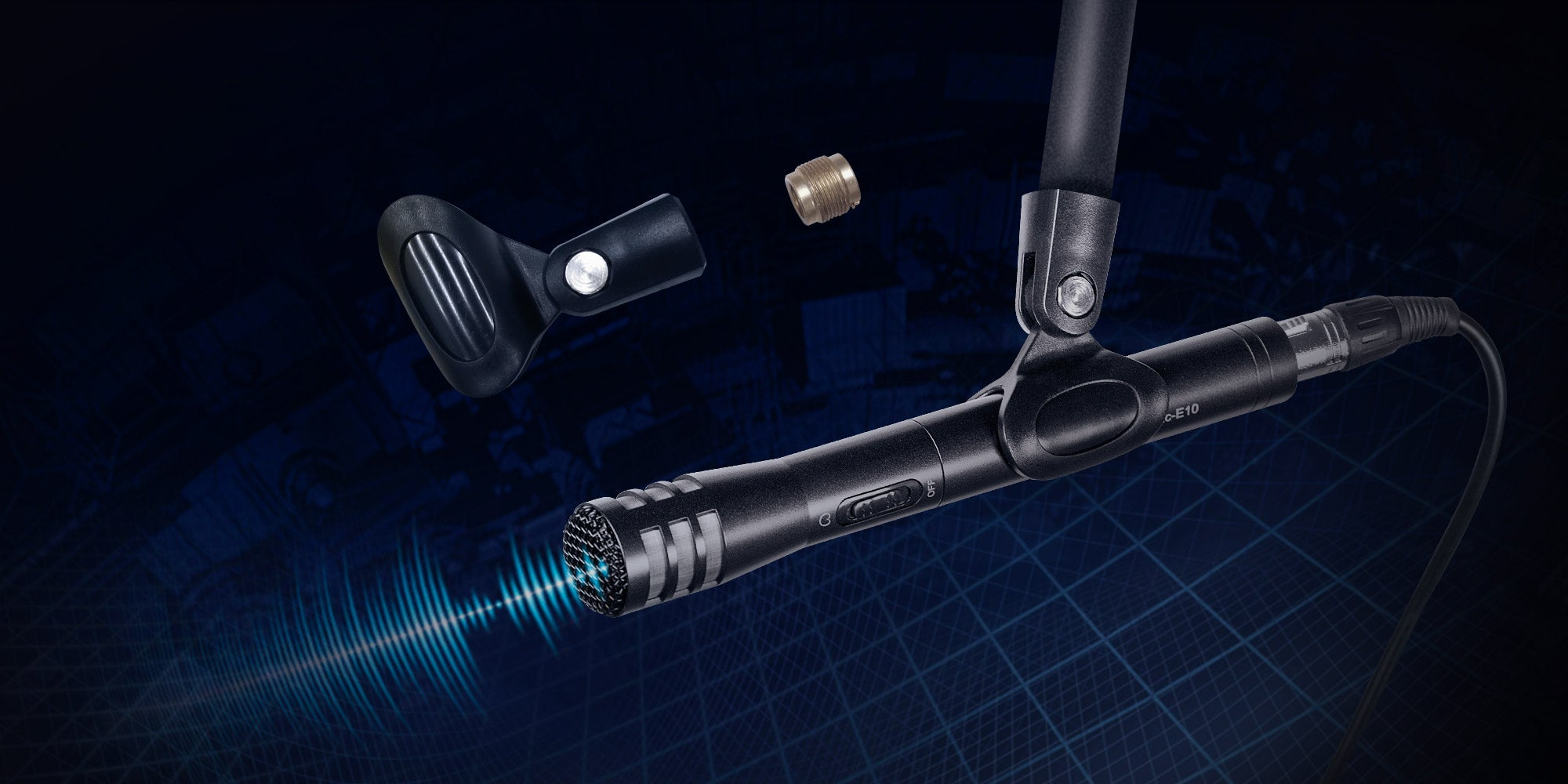 SYNCO Mic-E10 Mic Mount for Extended Usages