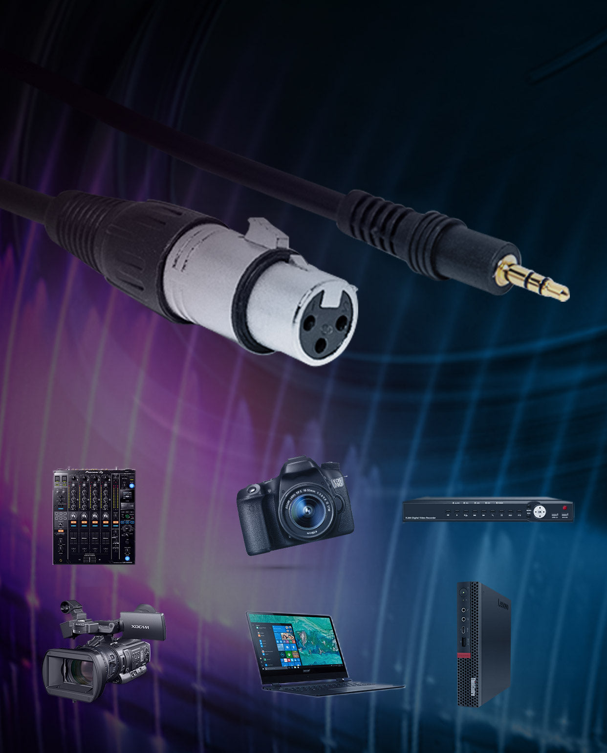 SYNCO Mic-E10 Intended for Wide Compatibility