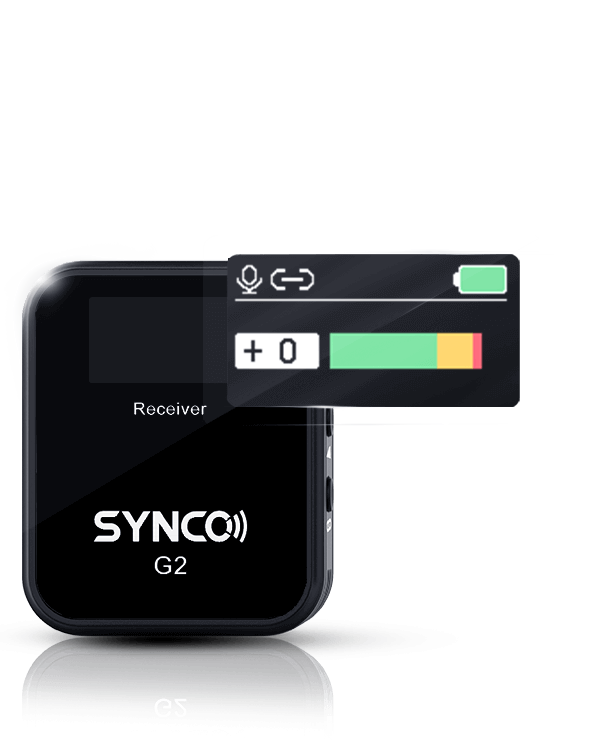 SYNCO G2(A1) Brandnew TFT Display as Strong Boost to SYNCO 2.4 GHz System