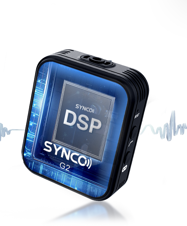 SYNCO G2(A2) Integrated Signal Processing Brings Little Latency Output