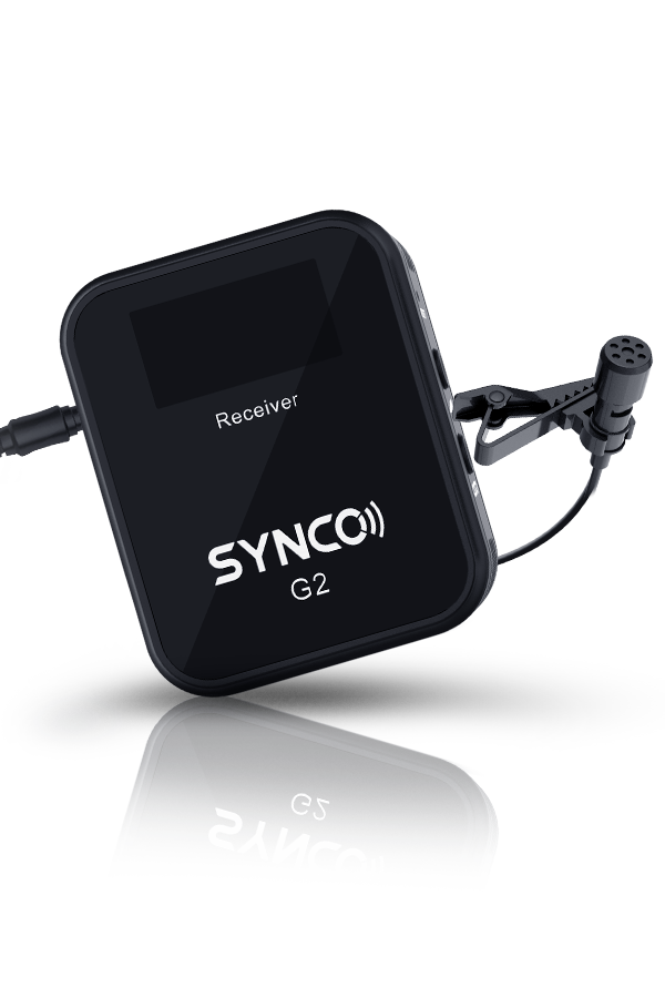 SYNCO G2(A2) Pocket Mic Gets Invisible but Audible Effect